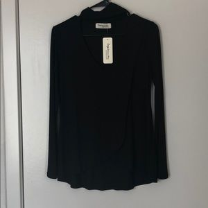 Black cut out top NWT